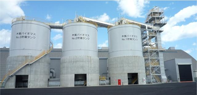 木質バイオマス燃料設備